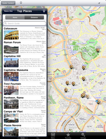 5 Ways To Explore Rome on iPad (and iPhone)