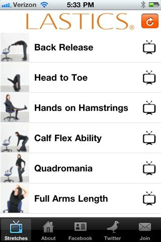4 Office Stretch Apps for iPhone