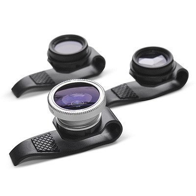 Gizmon Clip-On Lenses, PoP Video Projector for iPhone