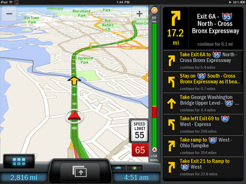 Copilot Live Premium Copilot Live Is A Universal Navigation Application That Works On All Iphones And The Latest Ipads It Offers Offline Maps With Free
