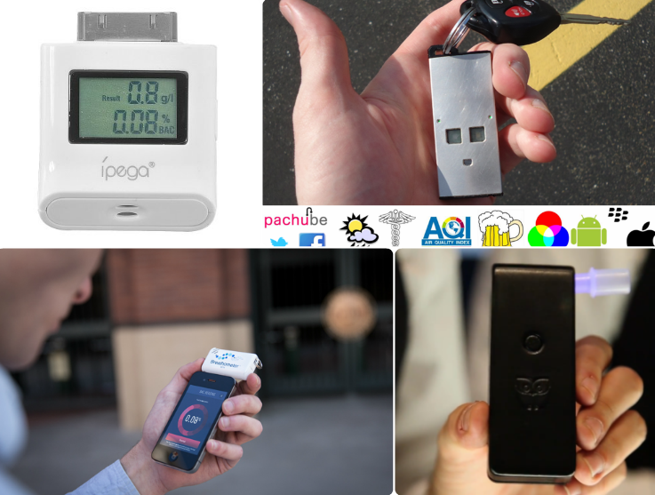 5 iPhone Breathalyzers To Measure Blood Alcohol Concentration