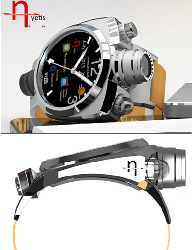 Hyetis Crossbow: Smartwatch with 41MP Camera