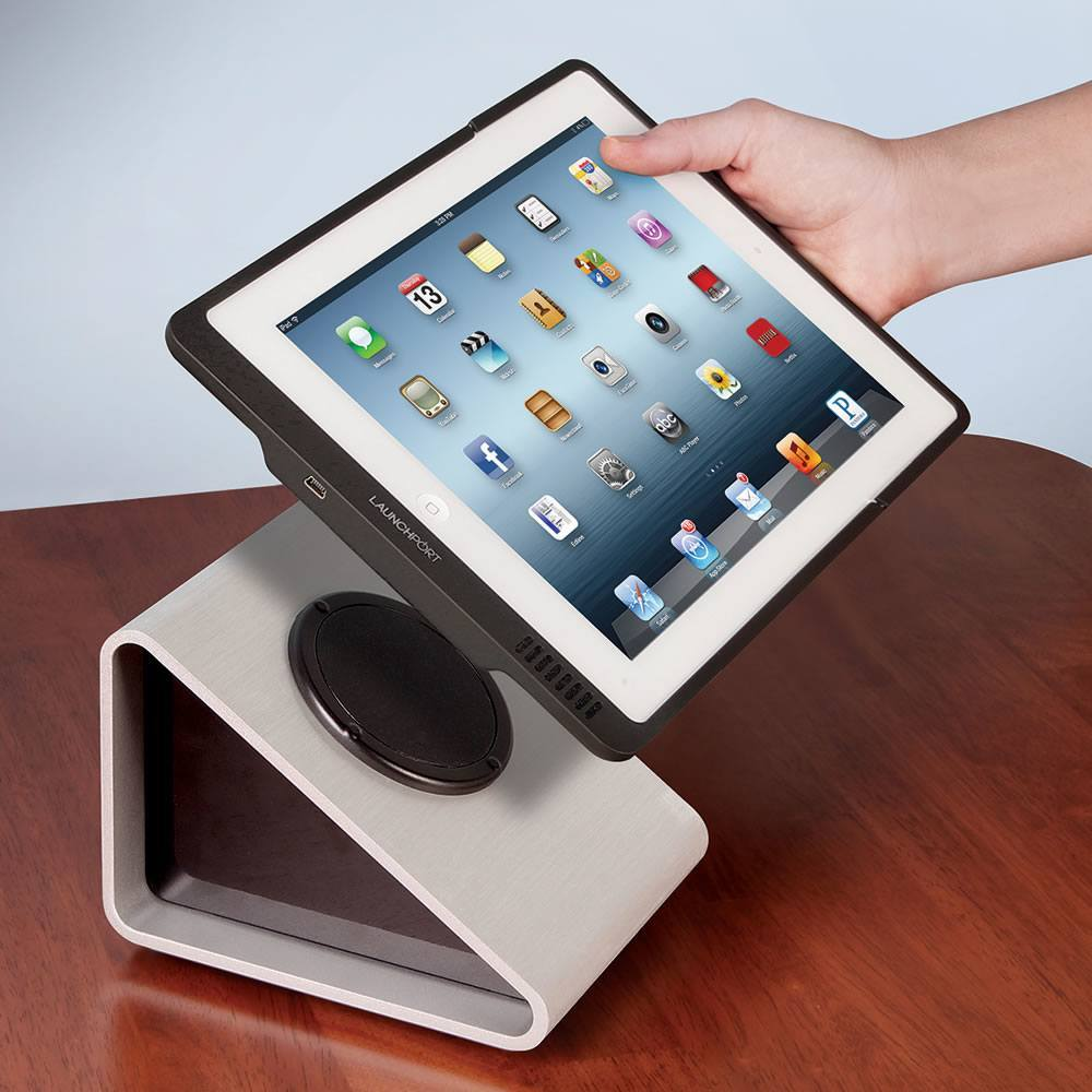 inductive ipad charging system for wireless charging iphoneness. Black Bedroom Furniture Sets. Home Design Ideas