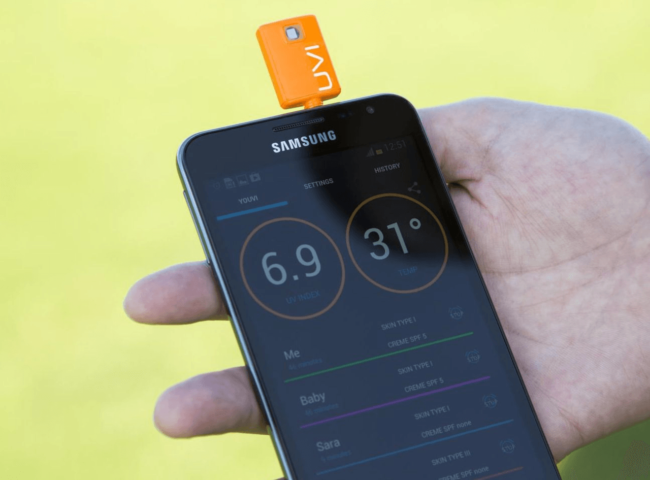 YOUVI: UV Radiation Detector for iOS & Android