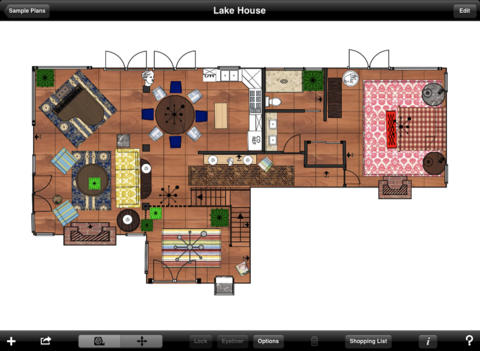 Create and view floor plans with these 7 ios apps iphoneness for Floor plan design app