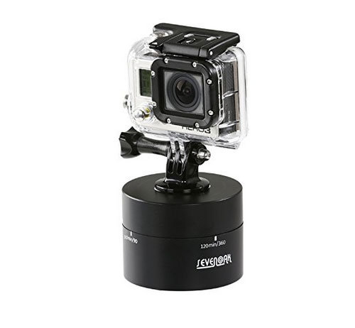 5 motorized panning heads for smartphone time lapse videos for Motorized video camera mount
