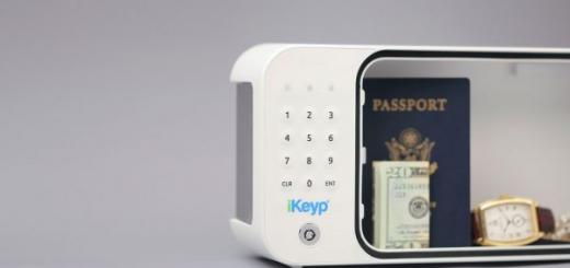 iKeyp Internet-connected Personal Safe