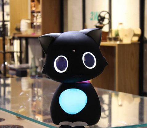 matebot app smart personal assistant robot cat iphoneness. Black Bedroom Furniture Sets. Home Design Ideas